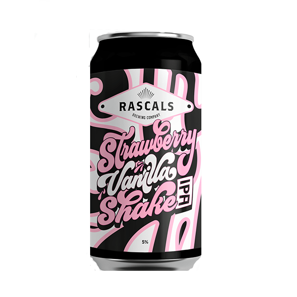 Rascals Strawberry & Vanilla Shake IPA  (440ml / 5%) (4631763025966)