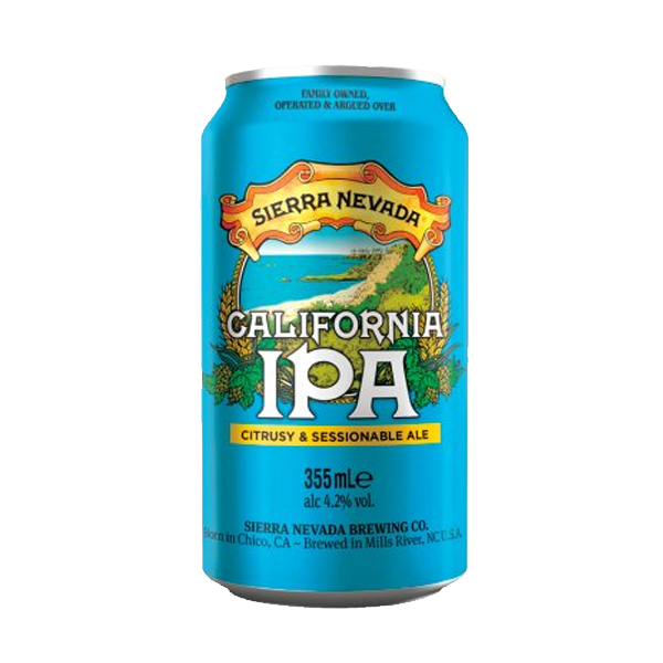 Sierra Nevada California IPA – Citrusy And Sessionable Ale (355ml / 4.2%) (4604625616942)