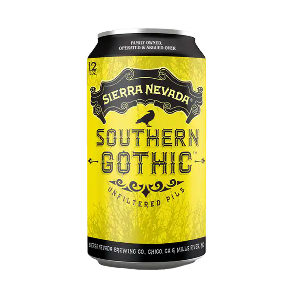 Sierra Nevada Southern Gothic Unfiltered Pils (355ml / 5.2%) (4587733188654)