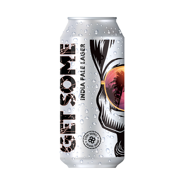 Stone Barrel Brewing Get Some India Pale Lager (440ml / 4.7%) (4704409813038)