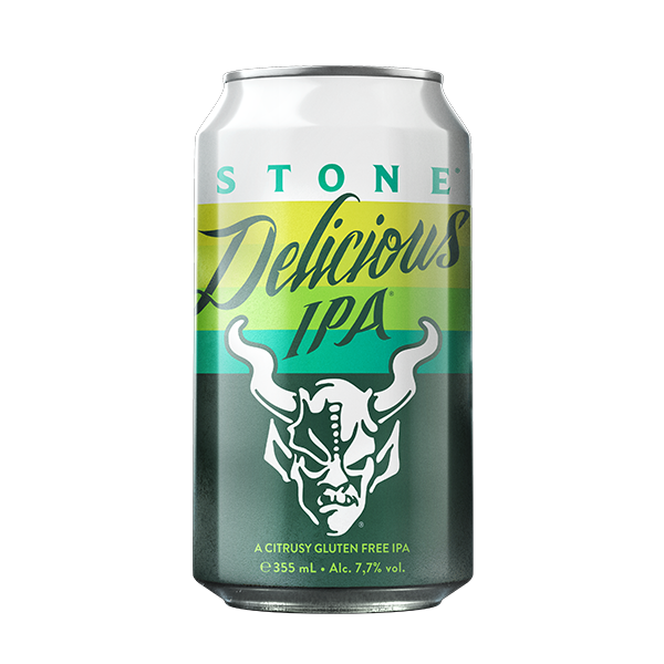 Stone Delicious IPA – Citrusy Gluten Free IPA (355ml / 7.7%) (6562317008942)