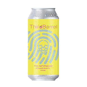 Third Barrel Brewing This Isn't Forever Vic Secret & Citra DIPA (440ml / 8.0%) (4715194351662)