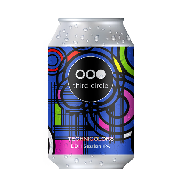 Third Circle Brewing Technicolours DDH Session IPA (330ml / 4.1%) (4712158461998)
