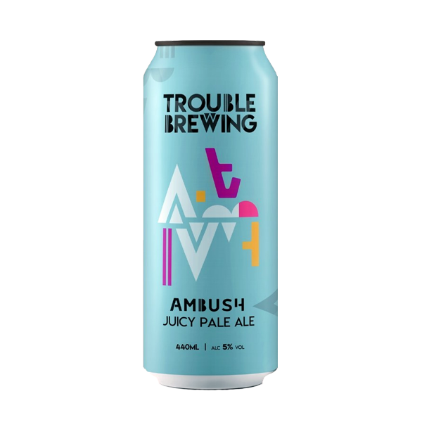 Trouble Brewing Ambush Juicy Pale Ale (440ml /  5.0%) (4587209981998)