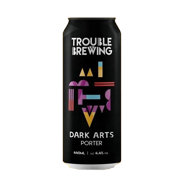 Trouble Brewing Dark Arts Porter (440ml / 4.4%) (4604566143022)