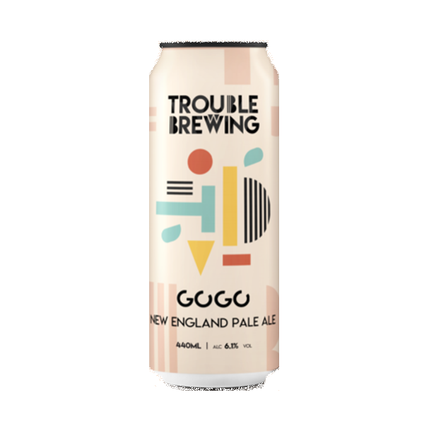 Trouble Brewing Gogo New England Pale Ale (440ml / 6.1%) (4678513295406)