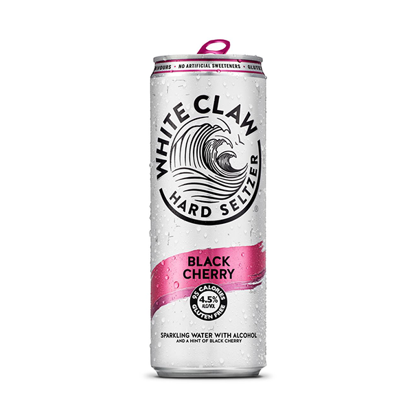 White Claw Hard Seltzer Black Cherry (330ml / 4.5%) (4647597113390)