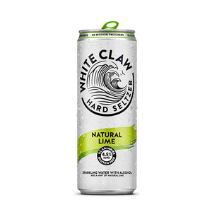 White Claw Hard Seltzer Natural Lime (330ml / 4.5%) (4647595999278)