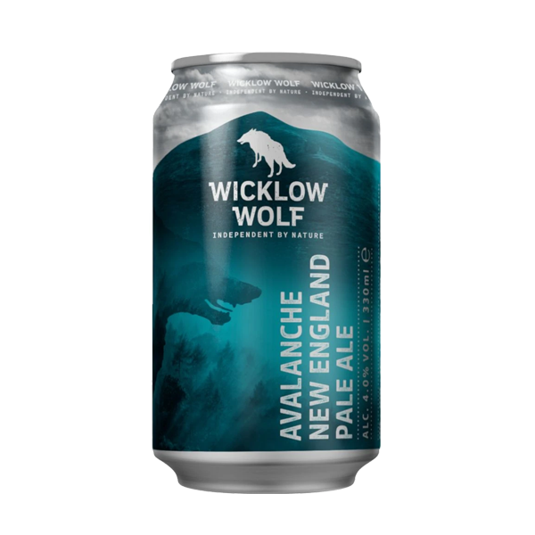 Wicklow Wolf Avalanche NEIPA (330ml / 4.0%) (4590584102958)