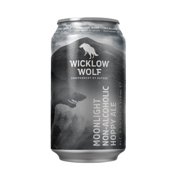 Wicklow Wolf Moonlight Non Alcoholic Hoppy Ale (330ml / 0.5%) (4590583218222)