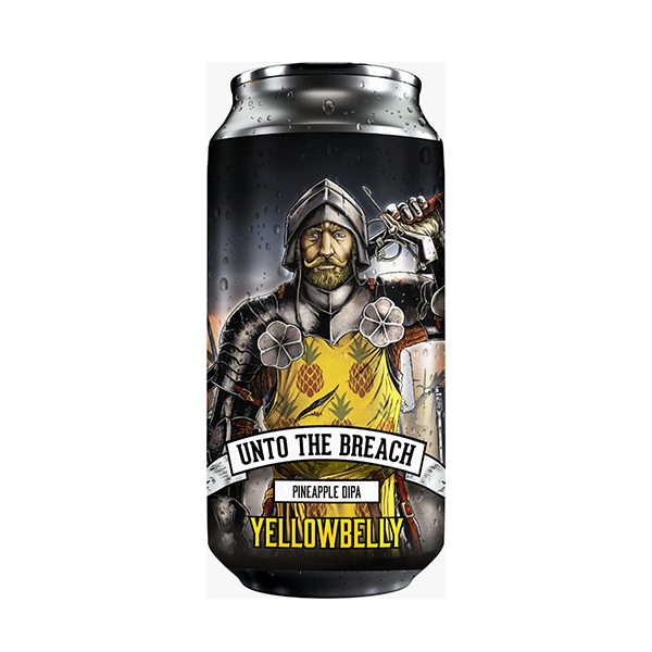 Yellowbelly Beer Unto The Breach Pineapple DIPA (440ml / 7%) (4660781219886)