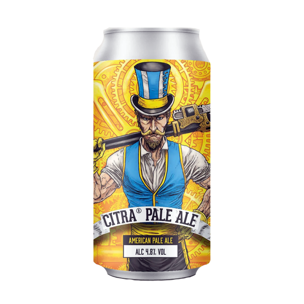 Yellowbelly Citra Pale Ale (440ml / 4.8%) (4590883471406)