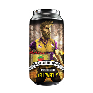 Yellowbelly Great For The Town Strawberry Sour (440ml / 4.2%) (4635014299694)