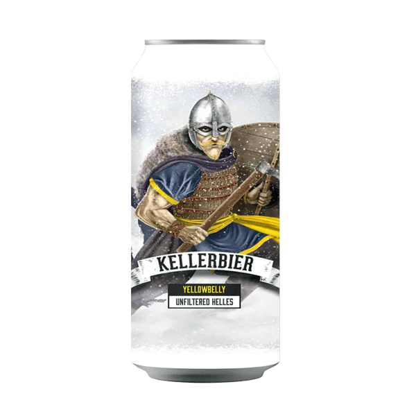Yellowbelly Kellerbier Unfiltered Helles (440ml / 4.3%) (4590877278254)