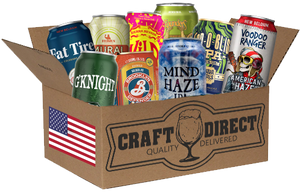 A Taste Of The States - American Craft Beer Tasting Box (4653286359086)