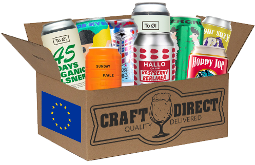 Europe's Finest - 12 Can European Craft Beer Tasting Box (4653303103534)