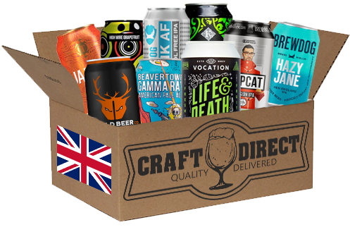 Best Of Britain - 12 Can UK Craft Beer Tasting Box (4653294747694)