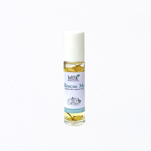 Bask Botanik Rescue Me Essential Oil Roller (10mL) - Roots Collective PH