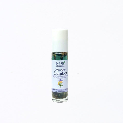 Bask Botanik Sweet Slumber Essential Oil Roller (10mL) - Roots Collective PH