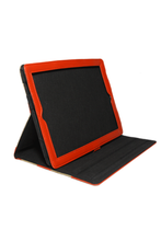 Load image into Gallery viewer, Vegan Leather iPad Case H in Red - Roots Collective PH