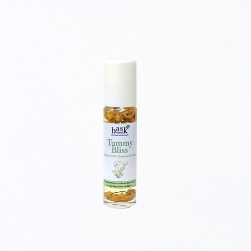 Bask Botanik Tummy Bliss Essential Oil Roller (10mL) - Roots Collective PH