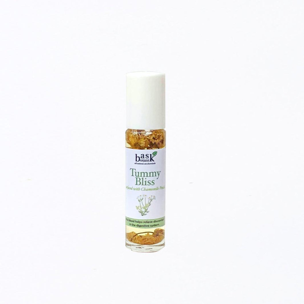 Tummy Bliss Essential Oil Roller (10mL) - Roots Collective PH