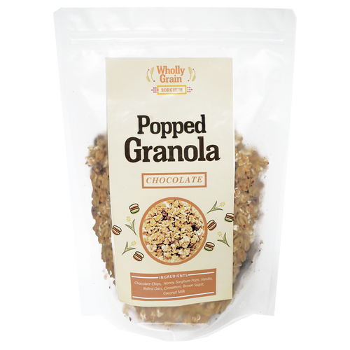 Popped Sorghum Granola - Roots Collective PH
