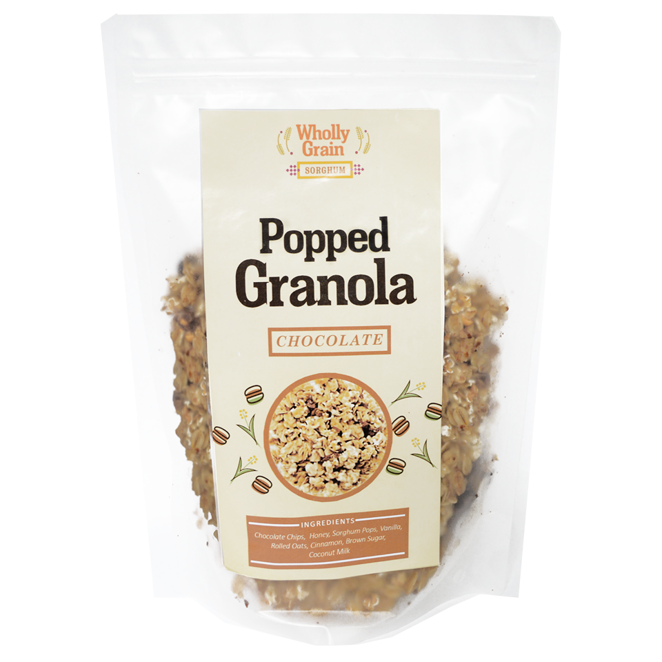 Wholly Grain Popped Sorghum Granola - Roots Collective PH