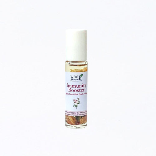 Bask Botanik Immunity Booster Essential Oil Roller (10mL) - Roots Collective PH