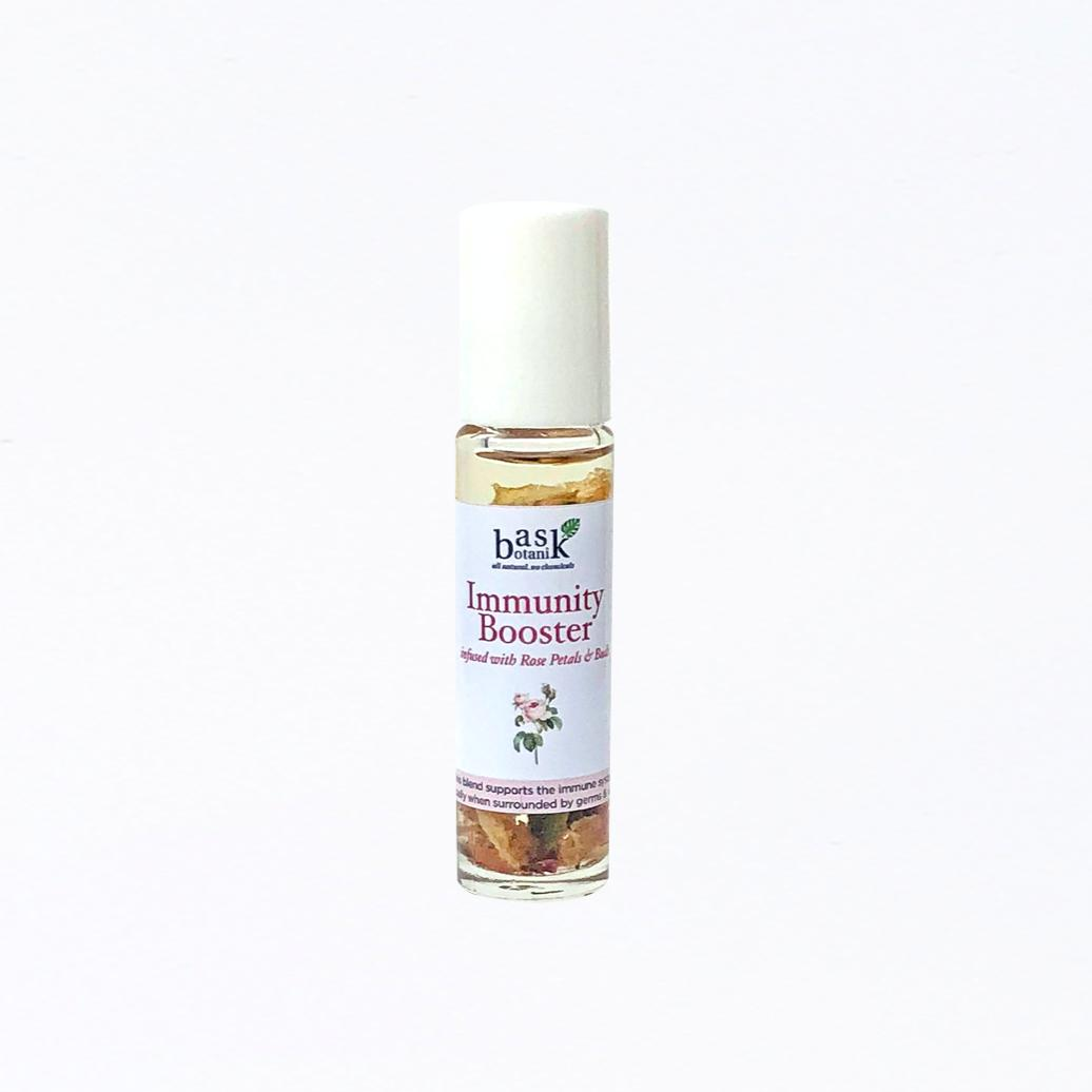 Immunity Booster Essential Oil Roller (10mL) - Roots Collective PH