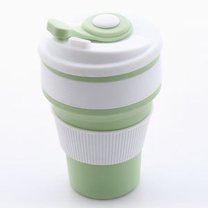 Mimi & Me Greentools Collapsible Silicon Cup (Green) - Roots Collective PH