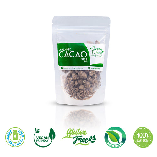 The Green Tummy Cacao Nibs with Coconut Sugar - Roots Collective PH