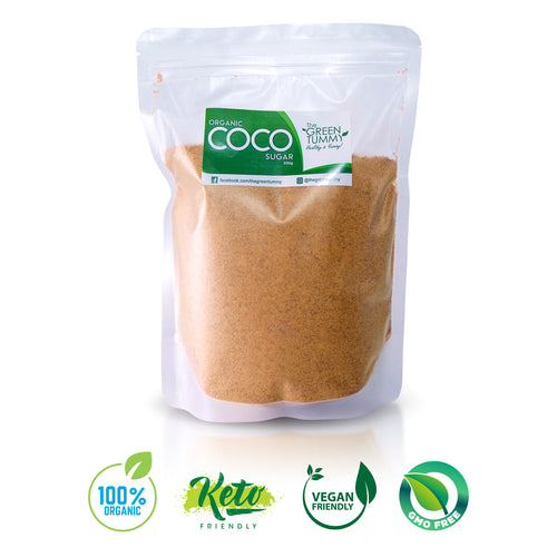 The Green Tummy Organic Coconut Sugar - Roots Collective PH