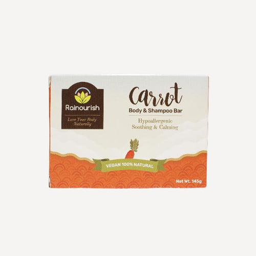 Body & Shampoo Bar [Carrot - 145g] - Roots Collective PH