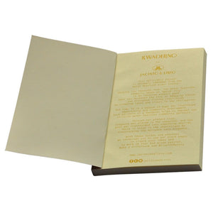Kwaderno Notebook Refill in Kraft Paper (Mini) - Roots Collective PH
