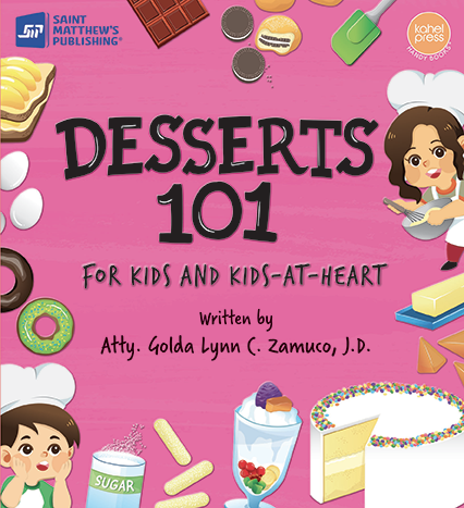 Kahel Press - Desserts 101 - Roots Collective PH