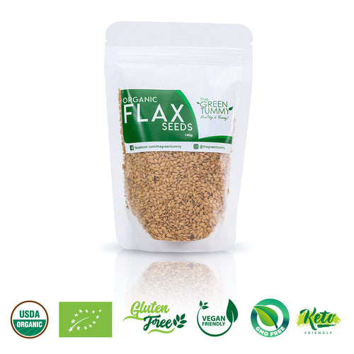 The Green Tummy Flaxseeds (140g) - Roots Collective PH