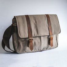 Load image into Gallery viewer, City Waxed Canvas Messenger Bag - Roots Collective PH