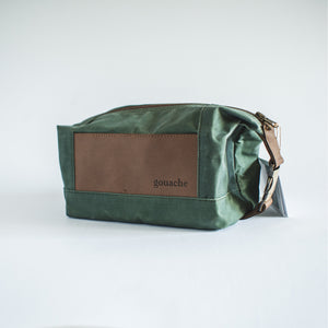 Theodore Waxed Canvas Dopp Kit - Roots Collective PH