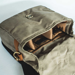 Harvey Waxed Canvas Camera Bag - Roots Collective PH
