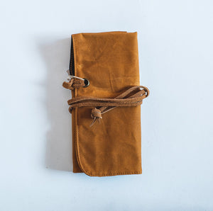 Barrie Waxed Canvas Watch Roll - Roots Collective PH