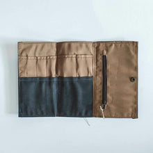 Load image into Gallery viewer, Cadden Waxed Canvas Trifold Organizer - Roots Collective PH