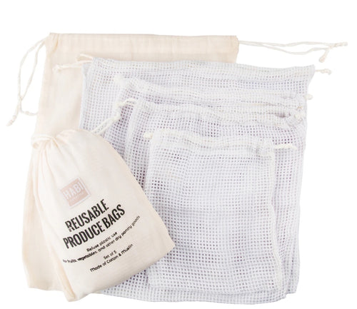 Reusable Produce Bags Set - Roots Collective PH