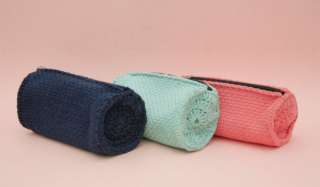 Hand-Woven Travel Pouch - Roots Collective PH