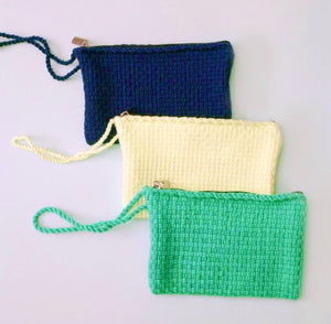 Hand-Woven Wristlet Pouch - Roots Collective PH
