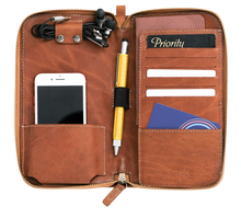 Load image into Gallery viewer, Kato Accountant Leather Travel Wallet - Roots Collective PH