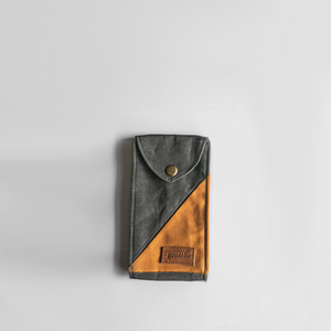 Mikko Waxed Canvas Pouch - Roots Collective PH