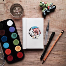 Load image into Gallery viewer, Kwaderno Notebook Refill in Kraft Paper (Mini)-Fashion Accessories-Jacinto & Lirio-Roots Collective PH