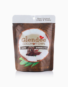 Nature Bites PH Glendee Coconut Chips with Dark Chocolate (40g) - Roots Collective PH