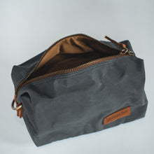 Load image into Gallery viewer, Sweeney Waxed Canvas Dopp Kit - Roots Collective PH
